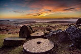 Abandoned Millstones....