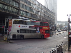 Chinese New Year 2017 - Smallbrook Queensway - no 45 bus to Japan (ell brown) Tags: chinesenewyear yearoftherooster birmingham westmidlands england unitedkingdom greatbritain chinesequarter smallbrookqueensway 45 bus nxwm nationalexpresswestmidlands japan hillst hillstbirmingham advert hollowaycircus ringwaycentre thesentinels clydesdaletower buses southside birminghamchinatown taxi taxis