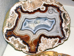 Agate (Borden Formation, Lower Mississippian; eastern Kentucky, USA) 11 (James St. John) Tags: agate nodule nodules geode geodes quartz chalcedony borden formation kentucky mississippian
