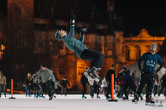 (israelicohen) Tags: ice freestyle iceskating jump backflip sport budapest
