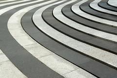 Black and white stripes (Jan van der Wolf) Tags: map 139101vv stripes art artwork blackandwhite banen kunst strepen denhaag abstract lines playoflines interplayoflines lijnen lijnenspel composition compositie