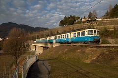 """MOB ABDe 8/8 4004 """"Fribourg"""" au Châtelard (eisenbahnfans.ch) Tags: 4004 abde88 châtelard fribourg goldenpass mob montreux regio regionalzug trainrégional"""