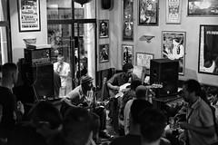 Vince Lee & Al Walis (Lloyd Hunt) Tags: vincelee blues music live gig concert blackandwhite blackwhite bar pub plymouth devon england crowd drinking good time fun entertainment