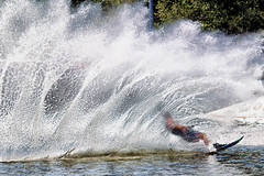 Masters of the Yarraverse (Pat Charles) Tags: moomba masters waterski waterskiing water yarra river race compete competition final grand grandfinal gold medal slalom ski skiing splash splashes splashing athlete athletic fit strong health healthy push overcome melbourne victoria australia nikon explode explosion 1001nights 1001nightsmagiccity