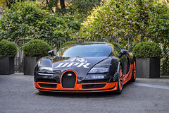 Super Sport (Beyond Speed) Tags: bugatti veyron supersport ss supercar supercars cars car carspotting automotive automobili nikon w16 carbon black orange milano italy bulgari dpr dpr2014 dragonpathrally