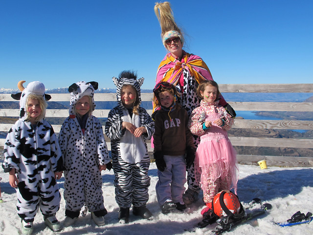 Riders & Sliders Dress Up Day, Treble Cone NZ (1 September 2013)