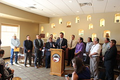STOP Act Press Conference at Indian Pueblo Cultural Center, July 5, 2016