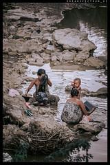 The Bathing evening of Middle Region from Myanmar (ayechan26) Tags: people nikon flickr myanmar dslr bagan lightroom d600 travelphotography 28300mmf3556