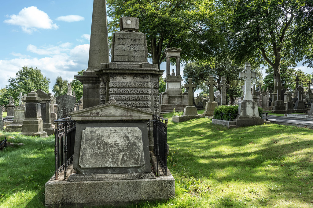 GLASNEVIN CEMETERY [MY FIRST DAY USING THE NEW SONY A7RMkII] REF-107382