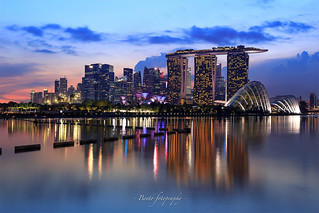 marina bay sand, singapore