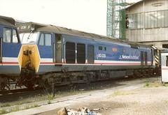 BR Class 50 50029 'Renown' - Liara T.M.D. (dwb transport photos) Tags: hoover locomotive britishrailways renown liara 50029