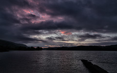 Loch Ard sunrise (Mr_Souter) Tags: uk water clouds sunrise scotland october europe colours places 2014 lochard