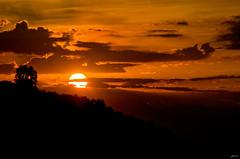 Pure emotion (Lorenoir) Tags: red sky cloud sun clouds sunrise pentax alba sole ischia redpassion isoladischia pentaxiani pentaxk50 sunriseatmosphere