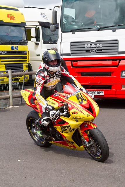 Sam Thompson, Thruxton Paddock