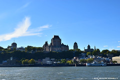 Quebec City seen from Lvis (Gerard Donnelly) Tags: quebec chteau saintlaurent fleuve frontenac