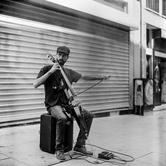 Hey you... are you listening... (Srgio Miranda) Tags: street blackandwhite bw 120 6x6 portugal mediumformat photography kodak streetphotography porto analogphotography 120mm kiev88 filmphotography kiev88cm bwstreet filmisnotdead srgiomiranda blackandwhitephotgraphy squarephotography sergiomiranda progold400