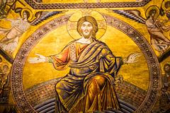 Particolare del mosaico del Battistero di San Giovanni a Firenze (ventus85) Tags: firenze battistero mosaici battisterodisangiovanni giudiziouniversale piazzaduomofirenze