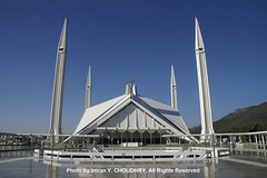 A view of Faisal Mosque, Islamabad- Imran Y. CHOUDHRY