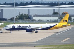 G-OZBH ~ 2015-09-20 @ BHX (5) (www.EGBE.info) Tags: airplane aviation birminghamairport planespotting airplanepictures generalaviation bhx airplanephotos monarchairlines airbusa321 gozbh egbb aircraftpictures elmdonairport 20092015 aircraftpix cvtwings davelenton