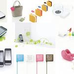 携帯電話周辺アイテムの写真