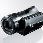 デジタルビデオカメラの写真