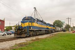 TPW 3441 West (BSTPWRAIL) Tags: railroad america train washington illinois rail railway toledo western locomotive local wyoming extra peoria genesee sd402 tpw railamerica