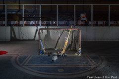Lost Ice Skate 05 (Travelers Of The Past) Tags: urban ice hockey lost noir decay skate neige exploration glace patin patinoire urbex urbaine