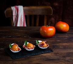 Bombones de tomate e ibrico (Frabisa) Tags: tomato bread ham pan appetizer tomate jamon aperitivo iberian ibrico