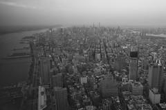 Manhattan - widok z Freedom Tower   Manhattan - view from Freedom Tower