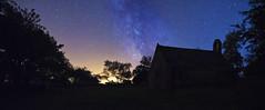 panorama st gonvel (fubu.flemm) Tags: panorama france night stars bretagne arbres paysage nuit étoiles argenton voielactée