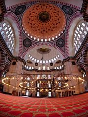 Suleymaniye@ist.tr (Tilemachos Papadopoulos) Tags: red architecture turkey mosque fisheye suleymaniye qoq m43 mft mirrorless