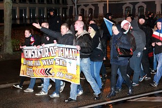 Anti-Asyl-Demo Rostock 07