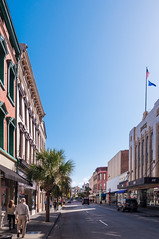 Thanksgiving in Charleston 2015-2 (King_of_Games) Tags: thanksgiving sc downtown day southcarolina clear charleston kingstreet chs kingst projectweather