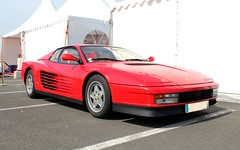 Ferrari Testarossa (SP-98) Tags: auto athmo enzo eos exotic right race red rouge team track tours young tyres fun cup italian italie italia old voiture love look coup hot course power compact motorsport plaisir propulsion passion piste sport speed style details france gt wheels jantes kmh canon car ferrari testarossa v12 worldcars