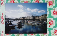 IMG_0002 Stockholm (spoeka) Tags: sea analog lomo lomography meer sweden stockholm harbour schweden instant analogue hafen cathkidston sofortbild fujiminiinstax instaxmini90neoclassic