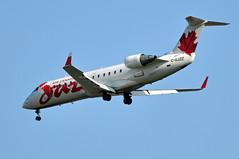 C-GJZZ   YVR (airlines470) Tags: canada airport air jazz yvr crj200 crj200er cgjzz