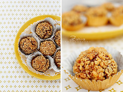 petit gteau (zahira photography) Tags: food cake gateaux yellew algerien