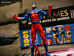 tomo (Gui Lopes BH) Tags: comics toys justice dc action super collection hero arrow figures league atomo elektron miniaturas coleo guilopesbh