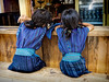 Sisters (Artypixall) Tags: guatemala sanantoniopalopo younggirls sitting counter faa getty