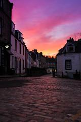 Queensferry Bridges (carolinechevassu) Tags: edinburgh edimbourg sunset pink sky love city sea heart forthbridge town ecosse scotland shell