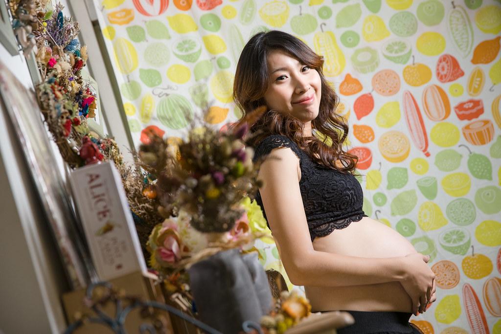 孕婦寫真,孕婦攝影,孕婦棚拍,婚攝卡樂,161217筱琪26