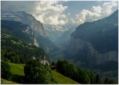 Lauterbrunnen (ΣĦαηϰĦα) Tags: mountains heaven switzerland lauterbrunnen landscape