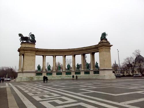 Praça do Heróis, Budapeste
