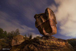 Silient Night at Balanced Rock