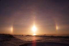 Vision II (Sergei P. Zubkov) Tags: gulfoffinland halo sun winter snow december 2016