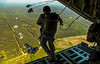 Skydiver Parachuting over Crow Wing. (The Sergeant AGS (A city guy)) Tags: skies skydivers parachuting soldier freedom forest free airforce airplane air exploration travelformyjob