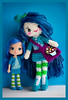 blueberry muffin (sugarelf) Tags: ragdoll crochet amigurumi blueberrymuffin doll handmadebyme character yarn craft