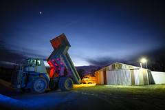 RGB Dump Truck (Notley) Tags: rural missouri notley notleyhawkins 10thavenue httpwwwnotleyhawkinscom missouriphotography notleyhawkinsphotography lightpainting bluelight greenlight blue green night nocturne 光绘 光繪 lichtmalerei pinturadeluz ライトペインティング प्रकाशपेंटिंग ציוראור اللوحةالضوء sky ruralphotography red redlight rgb outdoor 2017 january truck dumptruck