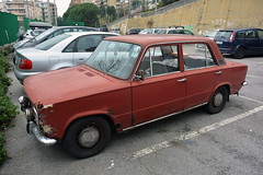 (Rusty) Fiat 124 (Maurizio Boi) Tags: rusty fiat 124 car auto voiture automobile coche old oldtimer classic vintage vecchio antique italy voituresanciennes worldcars