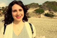 UBUNTU, La creencia de la que somos definidos por nuestra compasión y bondad hacias los demás. (Lucia Cortés Tarragó) Tags: feel air redlips canon fresh canon100d girl woman ibiza beach sand sky lovely mediterraneo